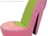 High Heel Shaped…Chair