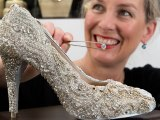 Kathryn Wilson shoe up for auction