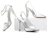 Stuart Weitzman designs Cinderella's glass slippers for Broadway